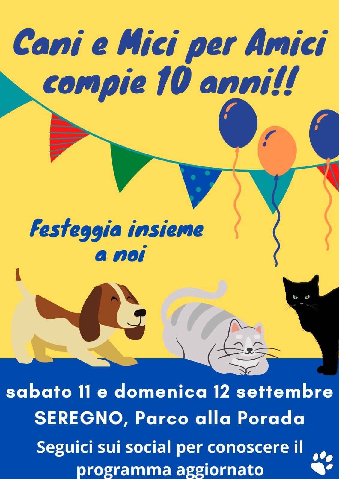 10° Anniversario Fondazione Associazione 11 e 12 Settembre 2021, Seregno (MB)